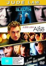 Sleuth / Alfie / Sky Captain and the World of Tomorrow (DVD, 2008, 3-Disc Set)