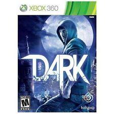 Dark (Microsoft Xbox 360, 2013) FREE SHIPPING