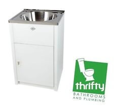 Everhard Retro Ice Laundry Tub and Cabinet