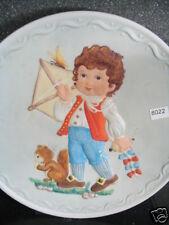 1982 Testing The Wind Debbie Bell Jarret Boy Kite Squirrel Butterfly Ltd Plate