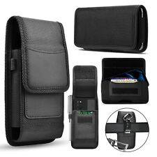 Cell Phone Wallet Rugged Case With Belt Clip For iPhone Samsung Lg Holster Pouch