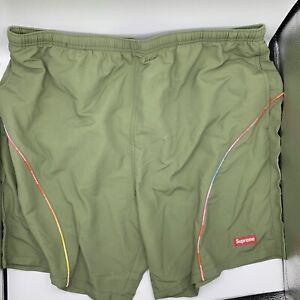 NEW Supreme Sample Shorts Trunks 2020 2021 Green Men's Large
