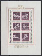 Österreich Austria 1972 ** Bl.2 Spanische Reitschule Pferde Horses [sr1297]