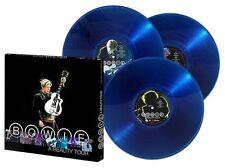 David Bowie/A Reality Tour 180g LP (3LP) (Blue Vinyl) (Box Set, NEW)