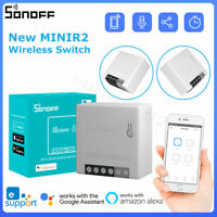 SONOFF MINIR2 Wireless WiFi Smart Switch Two Way Remote Control for Alexa Google