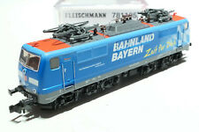 Fleischmann N DB AG 111 117-0 Bahnland Bayern bunt 781105 NEU OVP