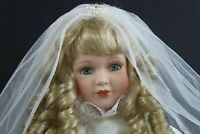 "Seymour Mann Connoisseur Doll Collection Limited Edition Bride ""Faye"" w/Stand"