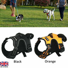 More details for no-pull dog pet harness reflective outdoor adventure pet vest padded handle uk