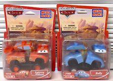 7780 Sally & Lightning Mcqueen DISNEY CARS MOVIE Mega Bloks Blok New SEALED 7773