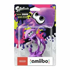 Neon Purple Inkling Squid Splatoon 2 Amiibo Character Nintendo Switch New 3DS
