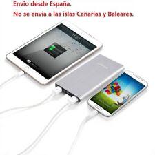 Batería Externa 10000mAh Cargador Portátil Móvil Power Bank Ultra Slim ES Stock