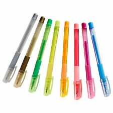 IKEA MALA Gel-Ink Pens - Assorted Colours - 8 Pens - Non-Toxic