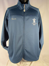 Hudson Bay Co.Canada 2010 Olympic Whistler Blue Soft Shell Men's XL Jacket