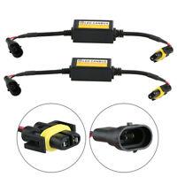 2pc H8 H9 H11 LED Headlight Decoder Canbus Anti-Flicker Error Free Load Resistor