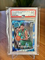 2017 Donruss Optic Shock🔥 Jayson Tatum 🔥 #198 RC Rookie PSA 9 MINT