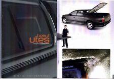 2009 HOLDEN UTILITY ACCESSORIES BEAUT UTES NZ Brochure CANOPY SPORT LID etc