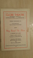 GLOBE THEATRE: PAUL SCOFIELD & AUDREY FILDES in RING ROUND THE MOON
