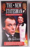 THE NEW STATESMAN COMPLETE 3RD SERIES DOUBLE 2 X VIDEO VHS RIK MAYALL 143 MINS