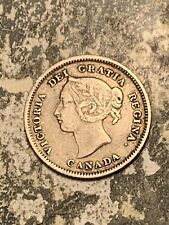 1880-H Canada 5 Cents Lot#Q9761 Silver! Nice!