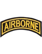 "N-003 Airborne Tab Gold on Black 4"""