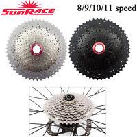SunRace 8/9/10/11S MTB Road Bike Cassette Cycling Flywheel fit Shimano SRAM