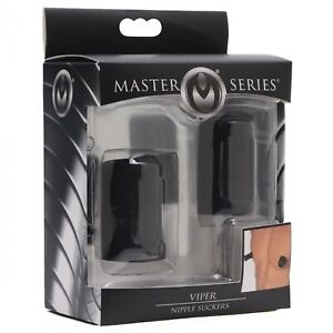 Master Series Viper Nipple Suckers Increase Sensitivity Stimulate Enlarge