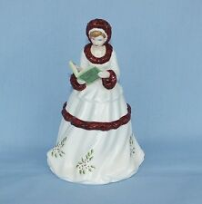 ROYAL DOULTON PORCELAIN LADY FIGURINE THE 12 DAYS OF XMAS ON THE 2ND DAY OF XMAS