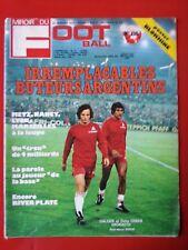 1976 miroir du football n°256 METZ NANCY MARSEILLE LYON ZAPPELLA BLOKHINE RIVER