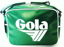 Gola Classic Retro Green/White Messenger Bag