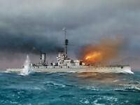 ICM S.014 - 1:700 König WWI German Battleship Full hull and waterline - Neu