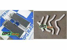 aluminum Radiator +WH HOSE Honda CR500 CR500R CR 500R 1985-88 86 1986 1987 1988