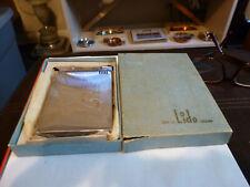 vintage Lido cigarette case/lighter in original box