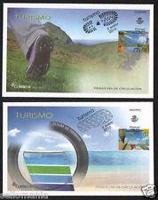 2016 FDC TOURISM BEACH AND MOUNTAIN EDIFIL 5019/20 SPD SPAIN          TC20016