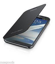 Genuine Samsung Galaxy Note 2 II N7100 Flip Cover Gray New in Box EFC-1J9FSEG