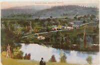 .1908 GOULBURN RIVER, ALEXANDRA, VICTORIA POSTCARD