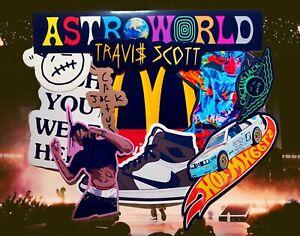 Travis Scott Sticker Pack Waterproof Vinyl