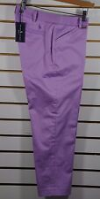 NWT Women's Ralph Lauren Golf, Low-Rise Stretch-Cotton Sateen Atmore Capri. Sz.6