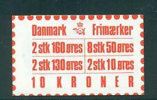 Denmark 1981 10 Kr Booklet Facit H48 print 22