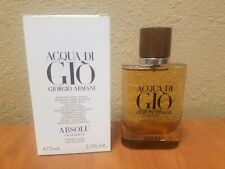 Armani Acqua Di Gio Absolu 2.5 oz EDP New Giorgio Mens Cologne 100% Authentic