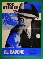 S08 Manifesto Al Capone Rod Steiger Richard Wilson Fay Spain James