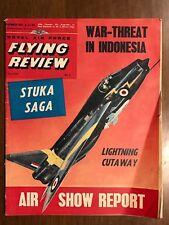 1961 Royal Air Force Flying Review Magazine - Stuka Saga / Lightning F1A Cutaway