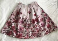 Kate Spade New York The Madison Ave Collection Skirt Women's Sz 6 Floral Pink