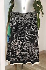 DESIGUAL- Jolie jupe trapèze noir et blanche - Taille 40fr 42it - EXCELLENT ÉTAT