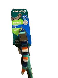 """Vibrant Life Dog Collar X small 6-9"""" X 3/4"""""""