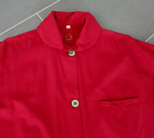 VINTAGE G by Romeo Gigli _ CAMICIA _ Shirt _ 1990`s_m_rot _ 100% Cotton _ RED _ MADE IN ITALY