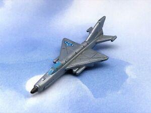 Micro Machines MiG-21 Russian Military Jet (Blue Star) Galoob 1996
