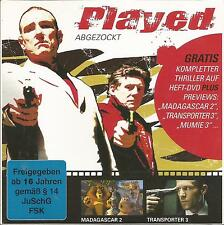 Played - Abgezockt / DVD-Magazin-Edition 01/09 / DVD-ohne Cover