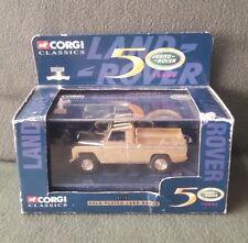 Model Automobile Car 1/43 Gold Plated Land Rover 07103 Corgi Classics Ltd Ed
