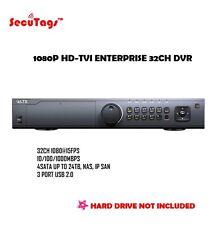 1080 HD-TVI PLATINUM ENTERPRISE 32CH DVR 1.5U