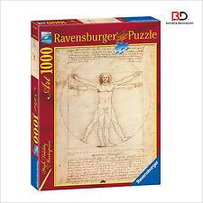 "Puzzle Ravensburger 15250  "" Uomo Vitruviano "" 1000 pz"